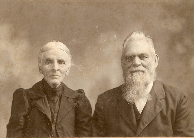 Jonathan Woodcock Dake and wife Sally